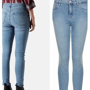 Top Shop Moto Skinny Cropped Jeans